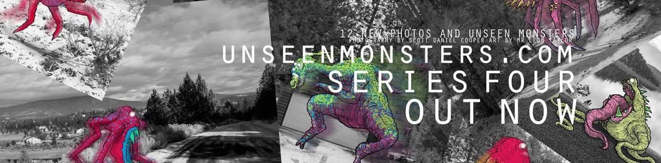 Unseen Monsters – A Photography/Graphic Design project by Scott Cooper and Leon Taylor